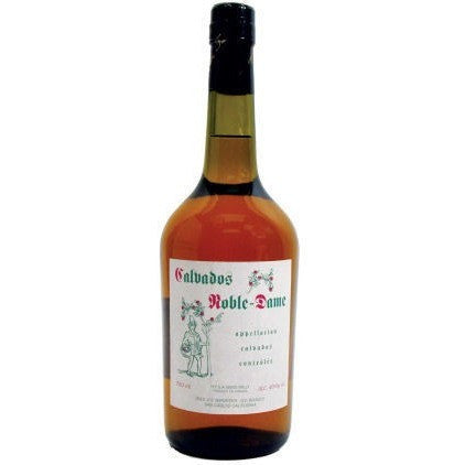 CALVADOS NOBLE DAME 375ML