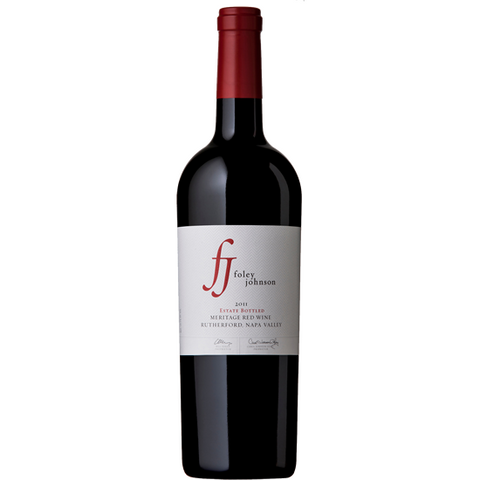 FOLEY JOHNSON MERITAGE 11 750ML - Fireside Cellars