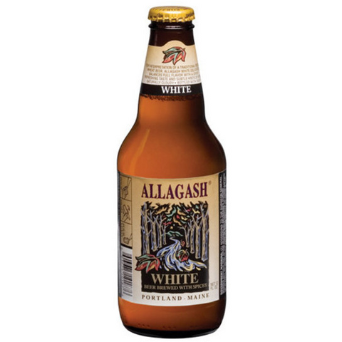 ALLAGASH WHITE BEER 4PK 12OZ