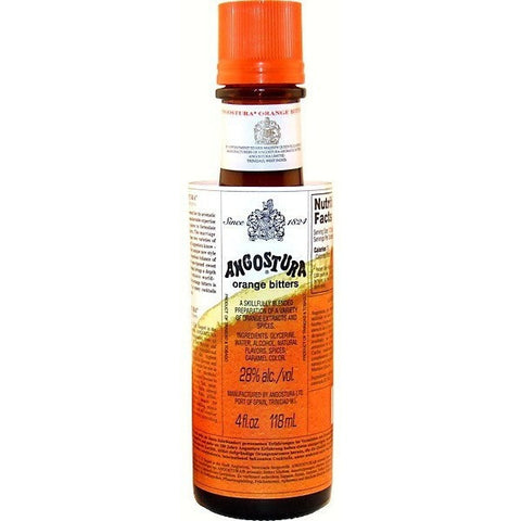 ANGOSTURA BITTERS ORANGE 4OZ - Fireside Cellars