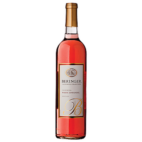 BERINGER WHITE ZINFANDEL 2013 750ML