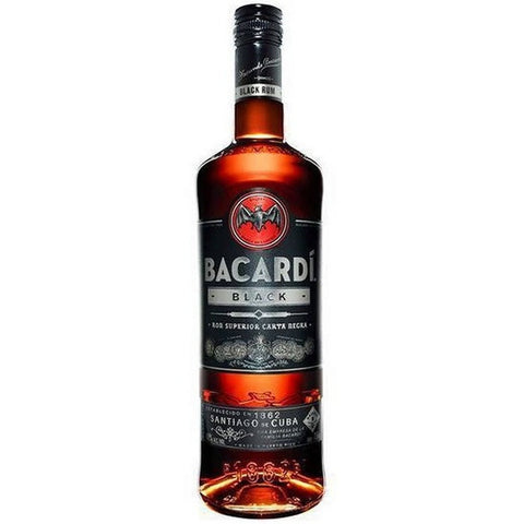 BACARDI DARK 50ML - Fireside Cellars