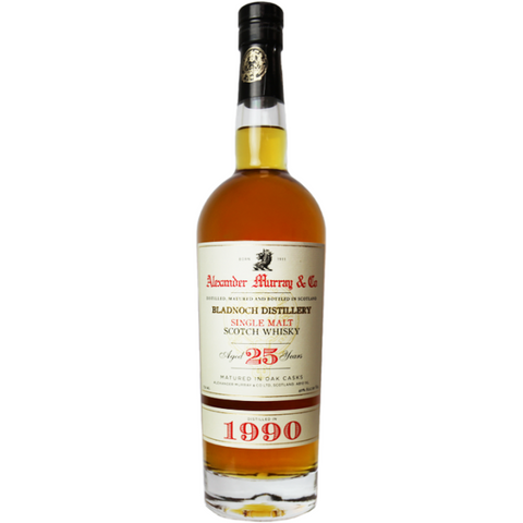 ALEXANDER MURRAY BLADNOCH 25YR 750ML - Fireside Cellars