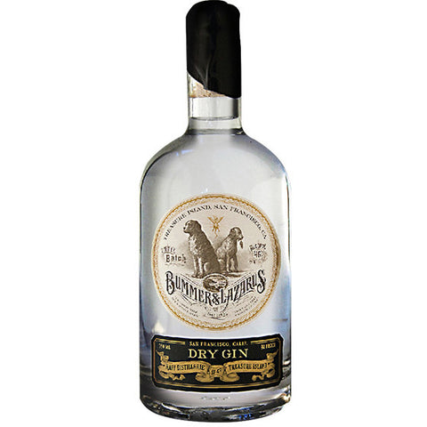 BUMMER & LAZARUS DRY GIN 750ML - Fireside Cellars