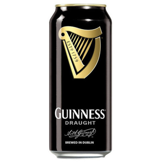 GUINNESS STOUT 16OZ   4PK CANS