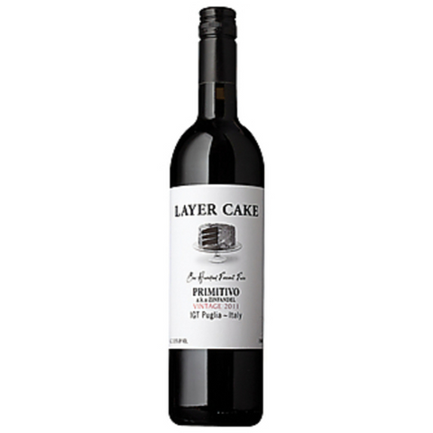 LAYER CAKE PRIMITIVO 12 750ML
