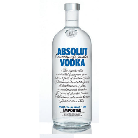ABSOLUT 80 PROOF 1.75L