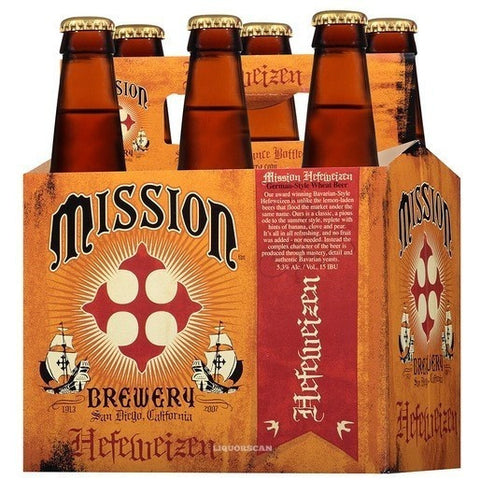 MISSION HEFEWEIZEN 6PK BOTTLES - Fireside Cellars