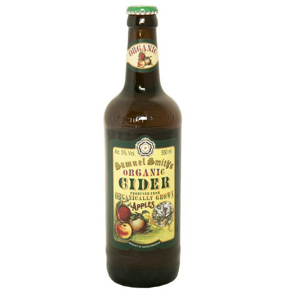 SAM SMITH CIDER ORGANIC 550ML