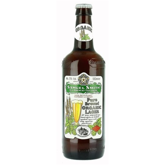 SAM SMITH PURE ORGANIC LAGER 1 PT