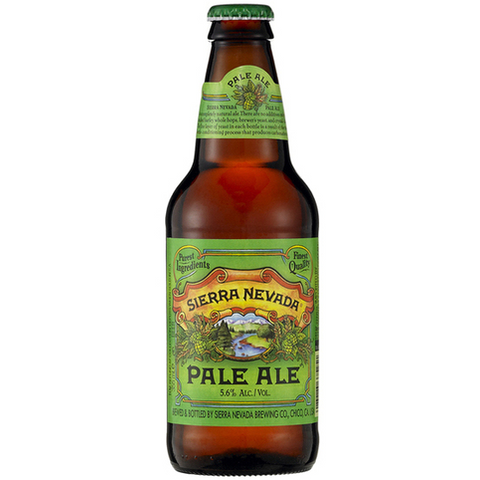 SIERRA NEVADA PALE ALE 6PK BOTTLES