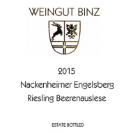 WEINGUT BINZ RIES-AUSLESE 15 750ML - Fireside Cellars