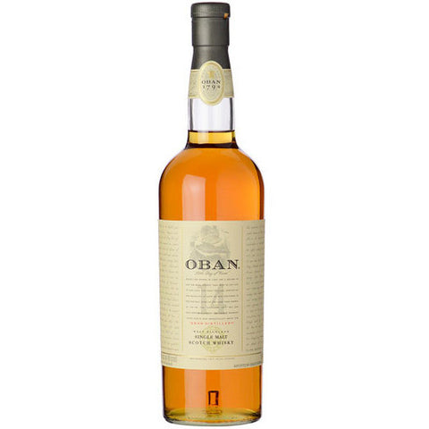 OBAN SINGLE MALT 14YR 750ML