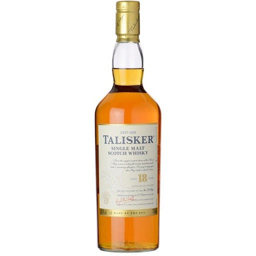 TALISKER 18YR SINGLE M 750ML