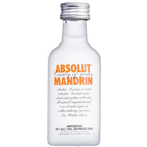 ABSOLUT MANDRIN 50ML