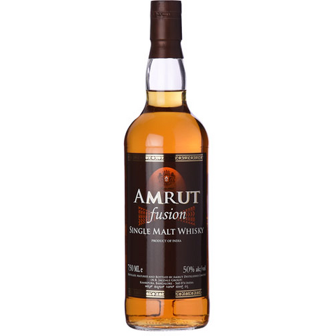 AMRUT FUSION SINGLE MALT W 750