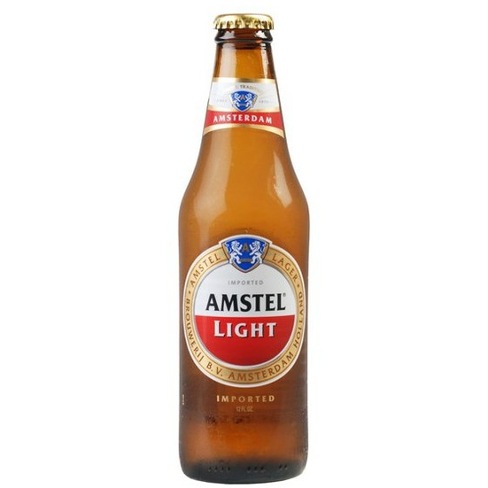 AMSTEL LIGHT  {CASE} 12OZ BOTTLES
