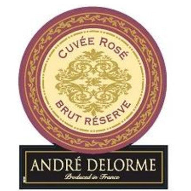 ANDRE DELORME CUVEE ROSE 750ML - Fireside Cellars