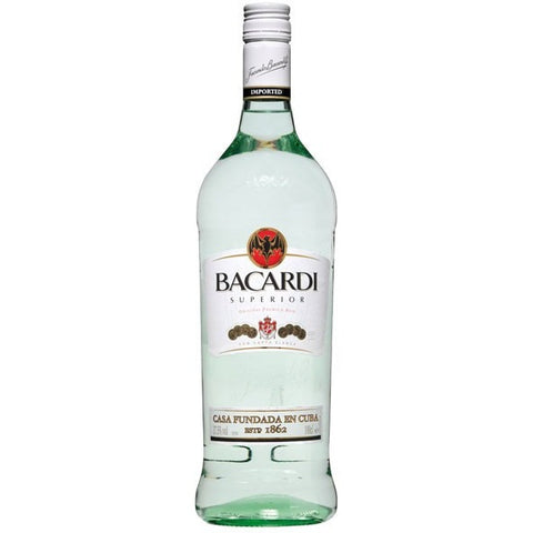 BACARDI LIGHT 750ML - Fireside Cellars