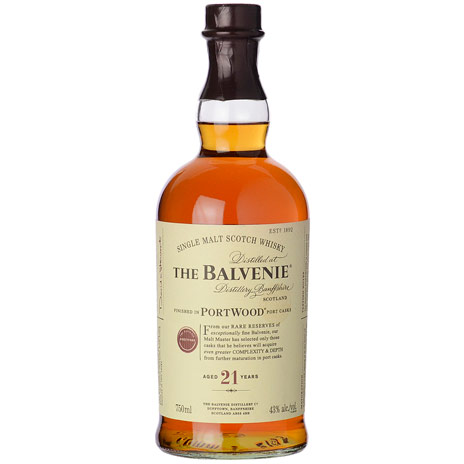 BALVENIE 21YR PORT WOOD 750ML