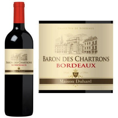 BARON DES CHARTRONS RED 2015 7 - Fireside Cellars