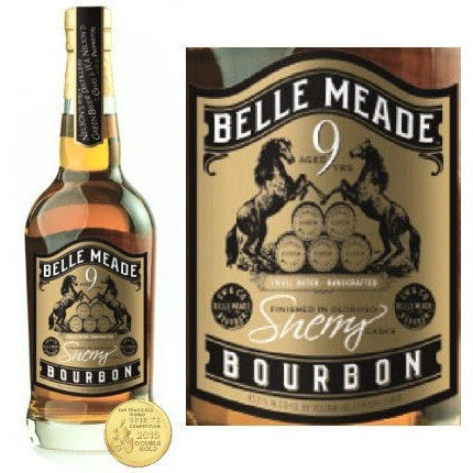 BELLE MEADE WHISKEY 9YR SHERRY 750ML - Fireside Cellars