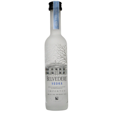 BELVEDERE VODKA 50ML