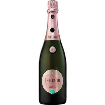BERLUCCHI CUVEE 61 ROSE 750ML - Fireside Cellars