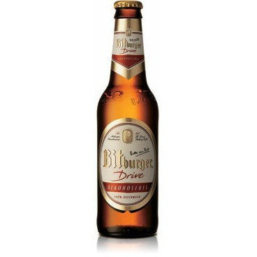BITBURGER NON-ALCOHOLIC BOTTLES {CASE}