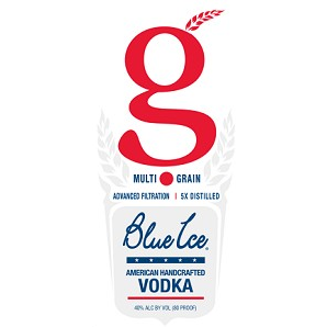 BLUE ICE VODKA MULTI GRAIN 50M