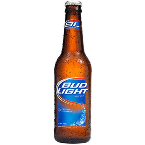BUD LIGHT 6PK BOTTLES