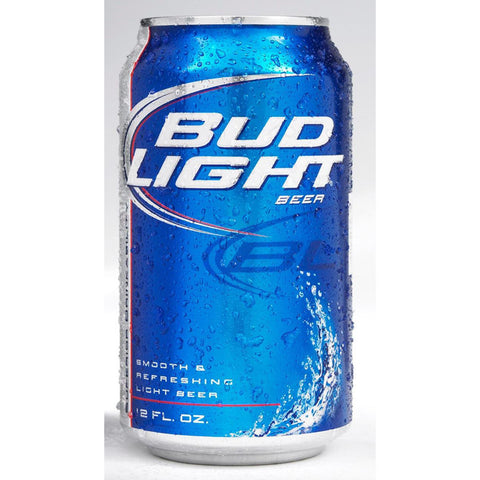 BUD LIGHT {CASE} 4/6 CAN