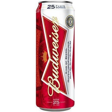 BUDWEISER 25 OZ CAN