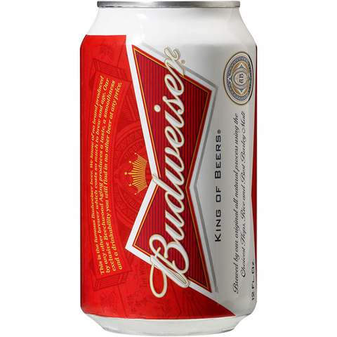 BUDWEISER {CASE} BUD 4/6 CAN