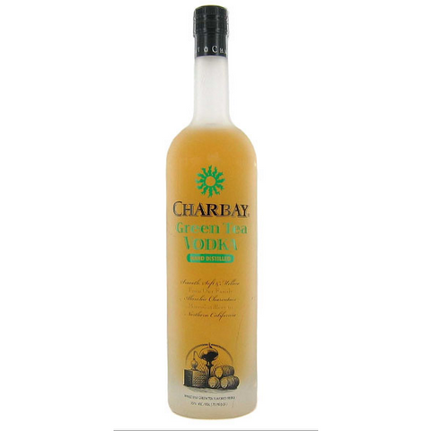 CHARBAY GREEN TEA VODKA 750ML