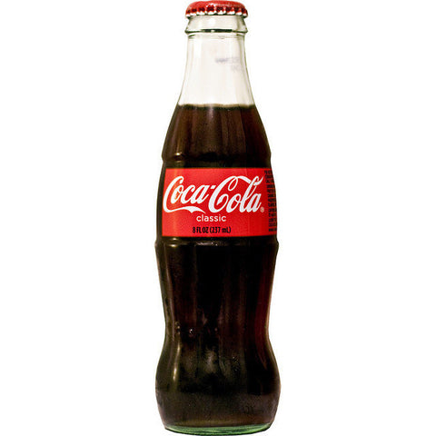 CLASSIC COKE 8OZ BOTTLE SINGLE