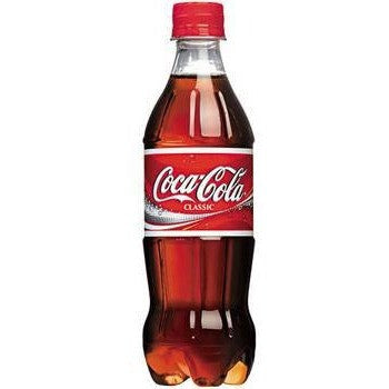 CLASSIC COKE 16OZ SINGLE PLASTIC