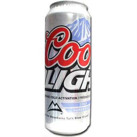 COORS LIGHT 24OZ CANS
