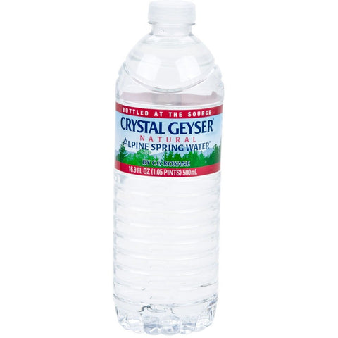 CRYSTAL GEYSER 16OZ SINGLE