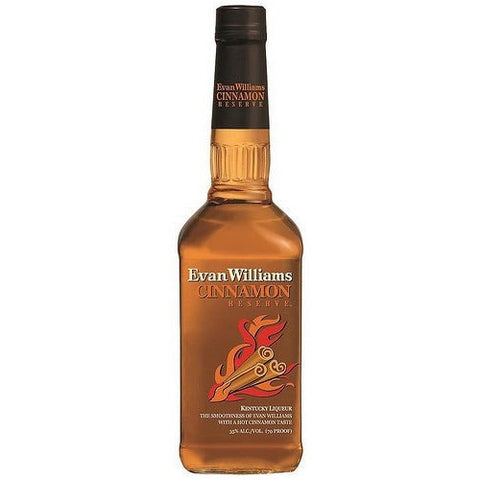 EVAN WILLIAMS CINNAMON 750ML