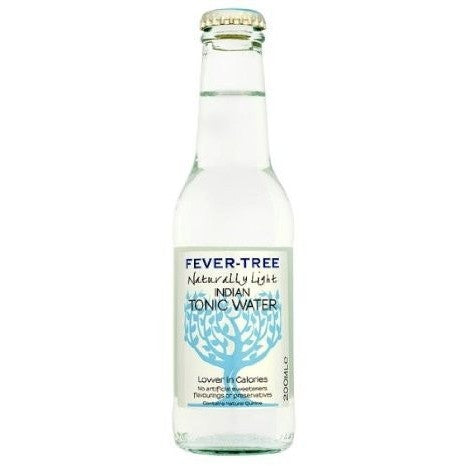 FEVER TREE LIGHT TONIC INDIAN 6.8OZ