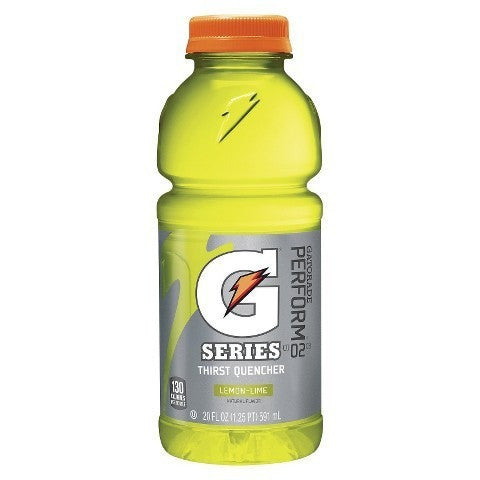 GATORADE LEMON LIME 20OZ