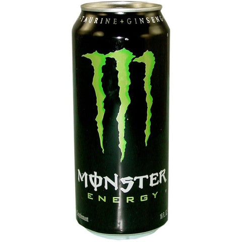MONSTER  GREEN 16OZ