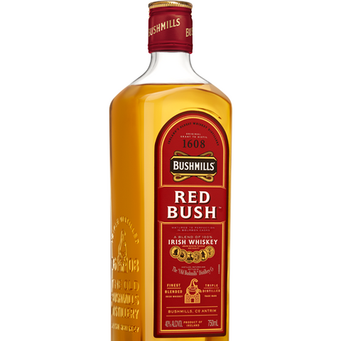 BUSHMILLS RED BUSH IRISH WHISKEY 750ML - Fireside Cellars