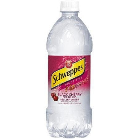 SCHWEPPES BLACK CHERRY 20OZ