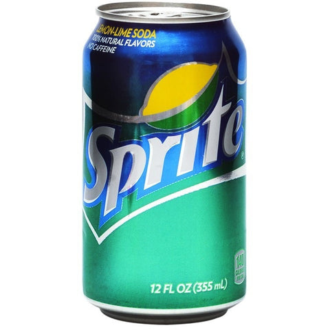 SPRITE SINGLE CAN 12OZ