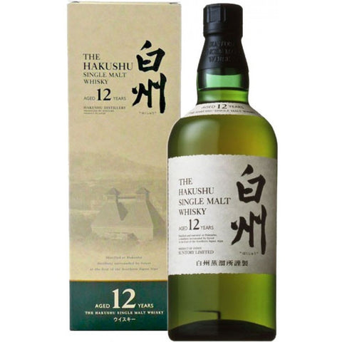 THE HAKUSHU 12YR 750ML