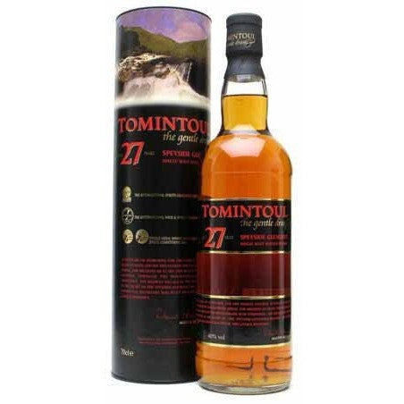TOMINTOUL SCOTCH 27YR 750ML