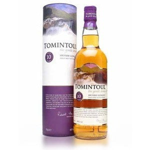 TOMINTOUL SCOTCH 10YR 750ML