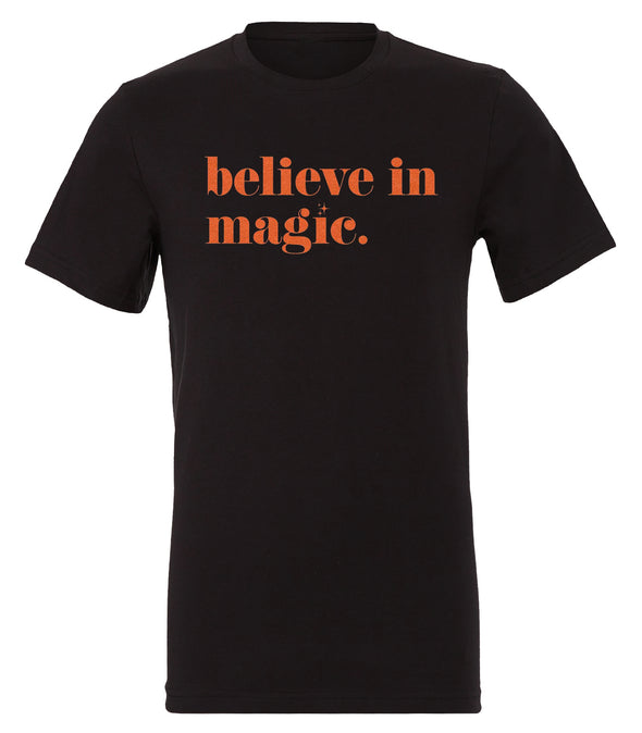 Believe In Magic Tee - Black